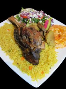 ROASTED LAMB PLATTER